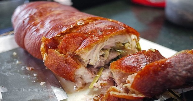 "Roasted Pork Belly ""Lechon"""