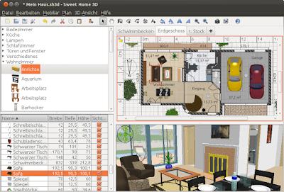 Aplikasi Desain Rumah Sweet Home 3D