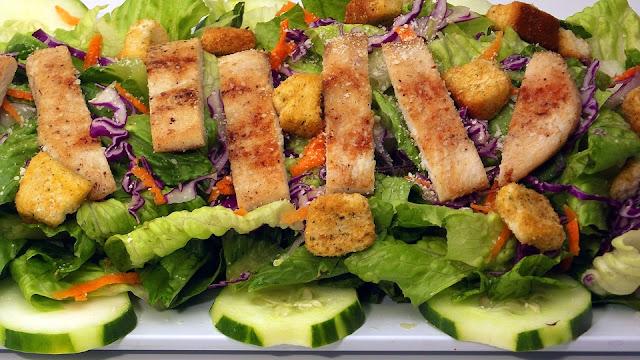 Recette facile d'une Salade Sésar