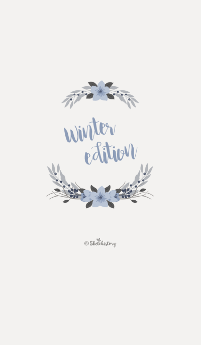 Floral Theme : Winter Edition