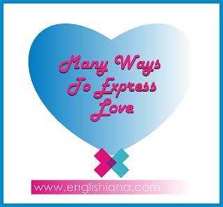 Kata Kata Cinta / Sayang Romantis Bahasa Inggris dan Artinya