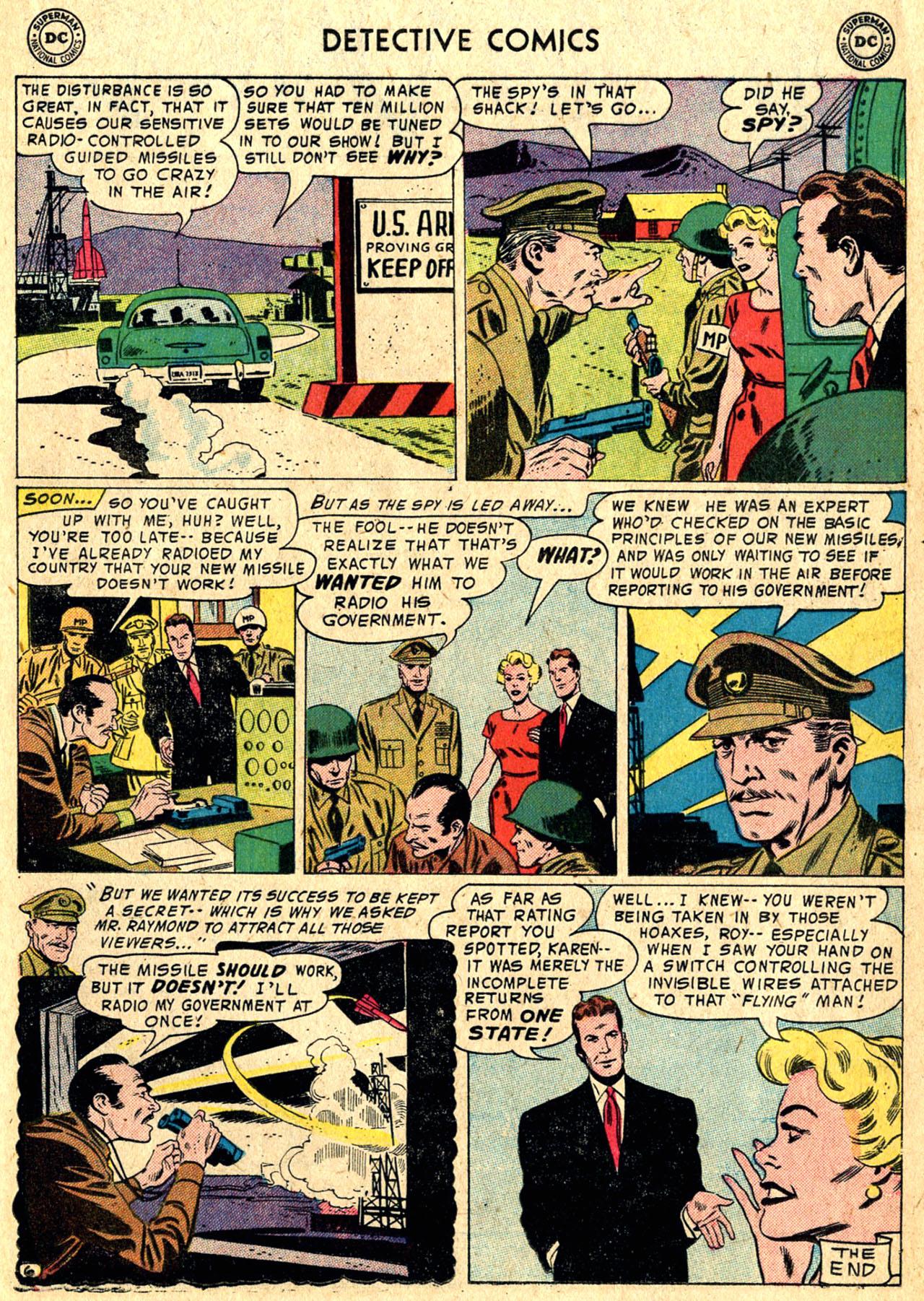 Read online Detective Comics (1937) comic -  Issue #235 - 21