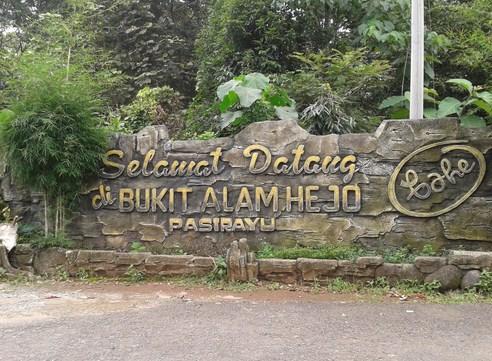 Obyek Wisata Majalengka Bukit Alam Hejo