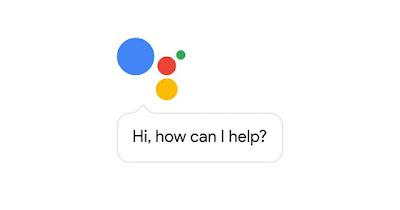 Google assistant facial Id concept