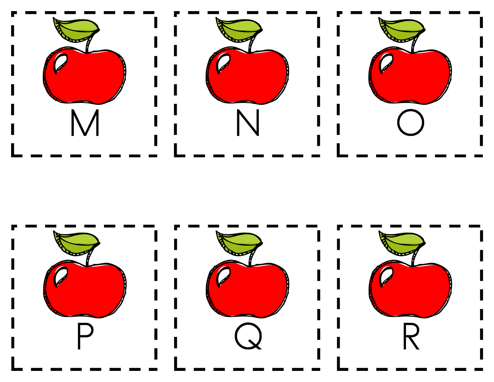 Teaching Is Sweet Johnny Appleseed Letter Name Sound Recognition Game