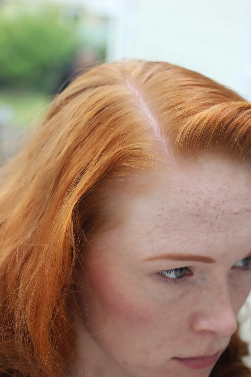 Blonde Hair Dye On Natural Red Hair