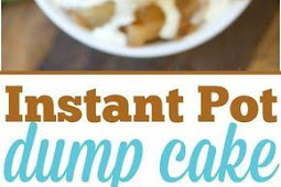 3 Ingredient Easy Instant Pot Dump Cake Recipe