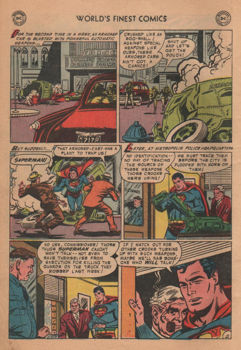 Read online World's Finest Comics comic -  Issue #72 - 4
