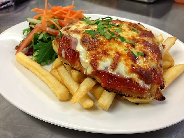 Resep Chicken Parmigiana