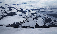 Scientists fear Arctic heating could trigger a climate 'tipping point'. (Photograph Credit: Mario Tama/Getty Images) Click to Enlarge.