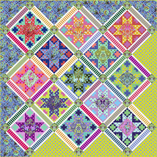 Free pattern day ! Star quilts (part 1)