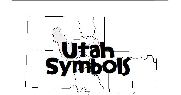 Fun For First: Utah Symbols Booklet