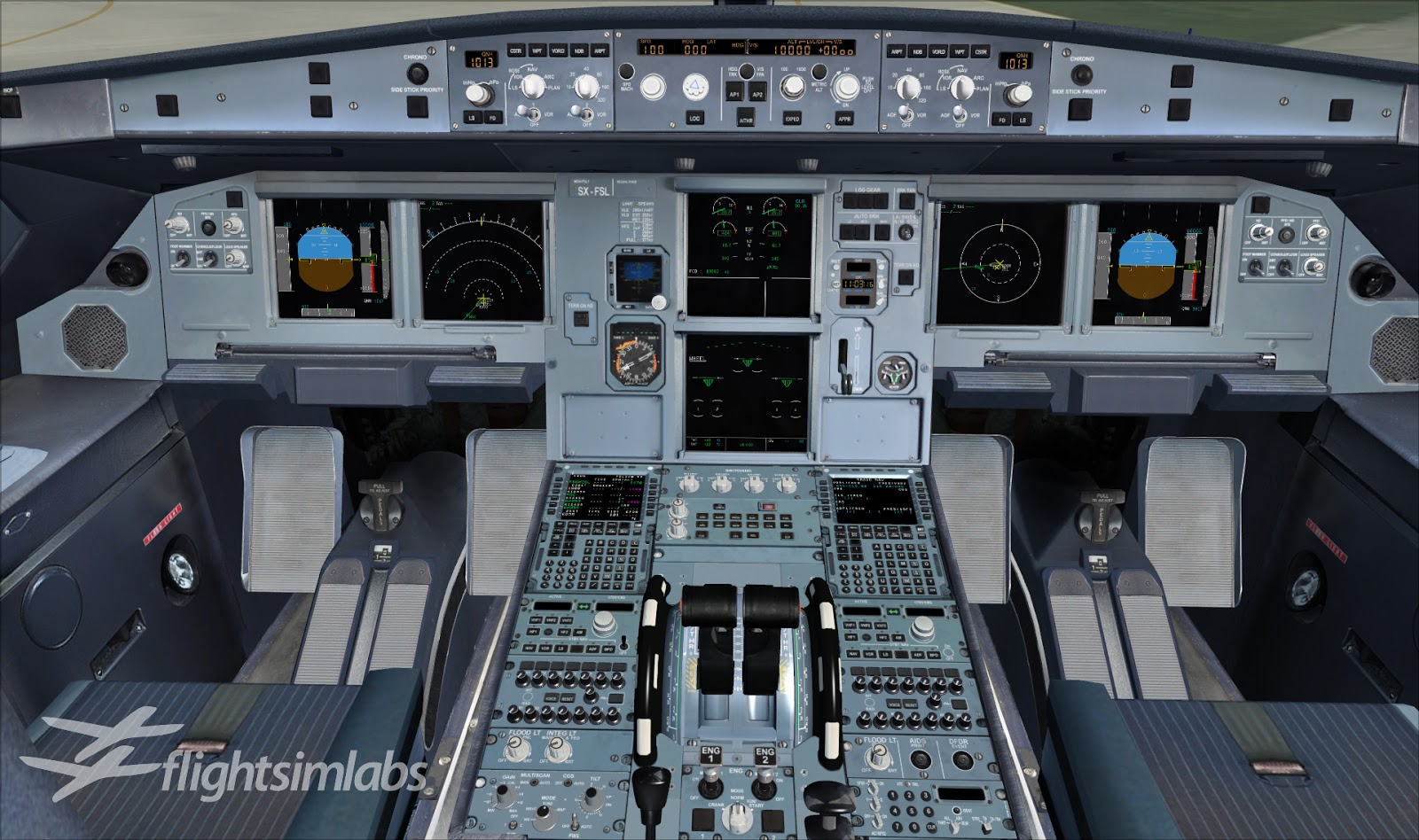 For Love Of Sim: FLIGHT SIM LABS AIRBUS A320