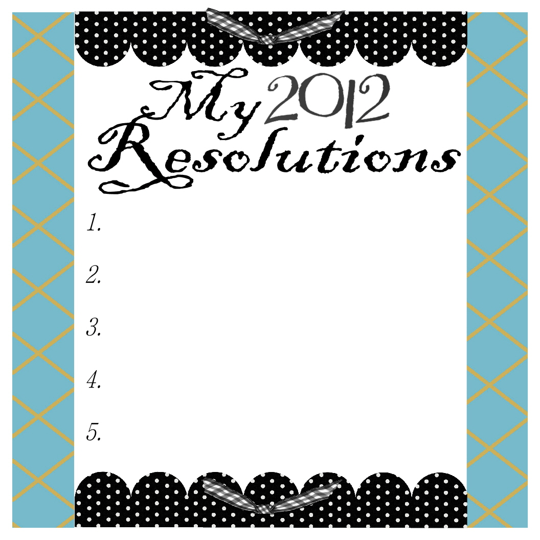 How To Make New Year S Resolutions You Can Keep Printables