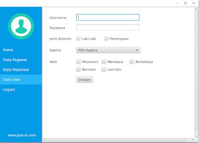 Cara Memasukan Data CheckBox Ke Dalam Database Pada JavaFx 1