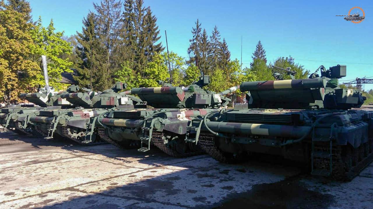 Львівський завод передав ЗСУ танки Т-64 та Т-72