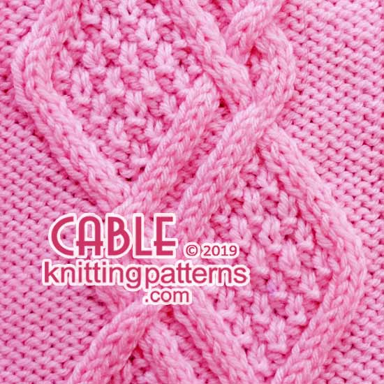 Braided Cable Knitting Pattern.