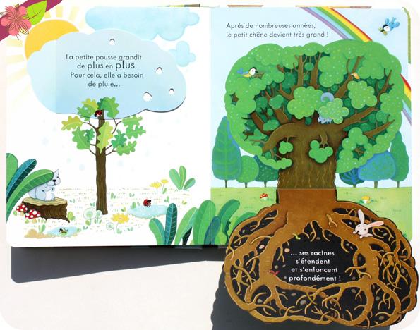 Coucou ! L'arbre - éditions Usborne