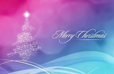 Tarjeta de Navidad Arbolito de Navidad Merry Christmas