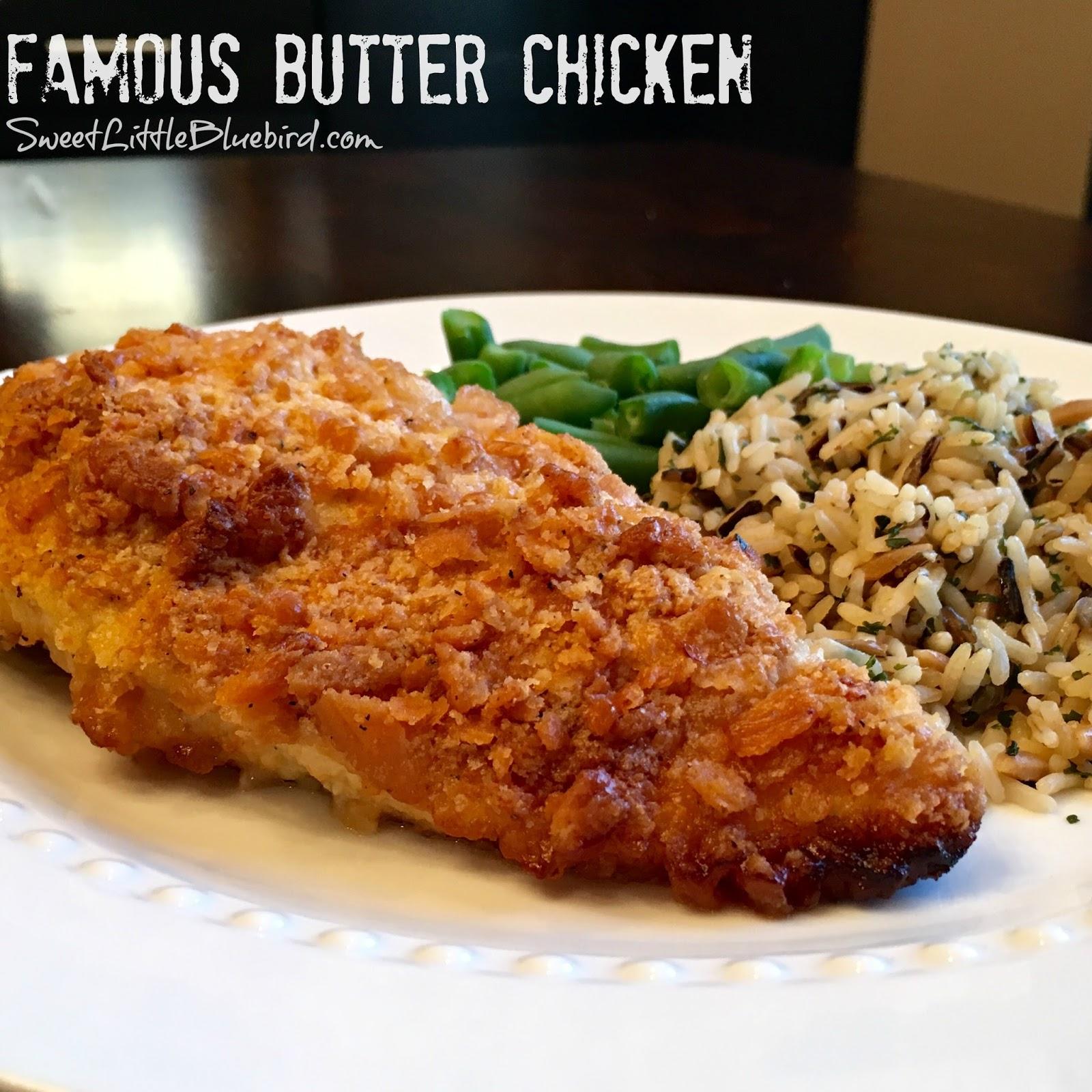 Famous Butter Chicken Aka Ritz Cracker Chicken Sweet Little Bluebird