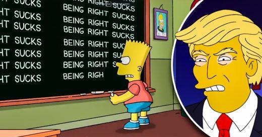 Los Simpson responden a la victoria de Trump
