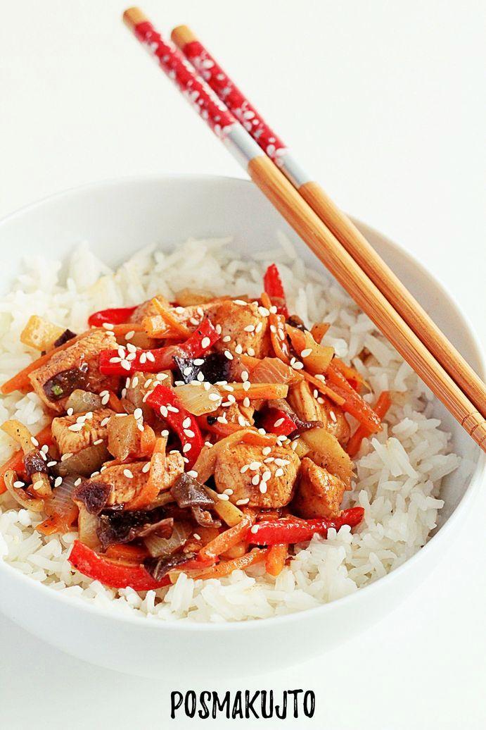 Domowa chińszczyzna, czyli kurczak w pięciu smakach
