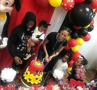 Wizkid Celebrates Son's Birthday In Grand Style (Photos)