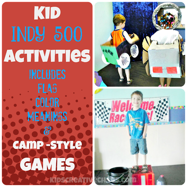 Indy 500 Activities for Kids