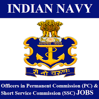 Indian Navy, Nausena Bharti, Graduation, Short Service Commission, SSC Officers, Permanent Commission, freejobalert, Sarkari Naukri, Latest Jobs, indian navy logo