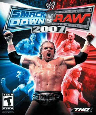 Full games and softwares: wwe raw vs smackdown 2007 game.