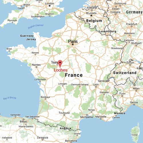 Paris -  Loches