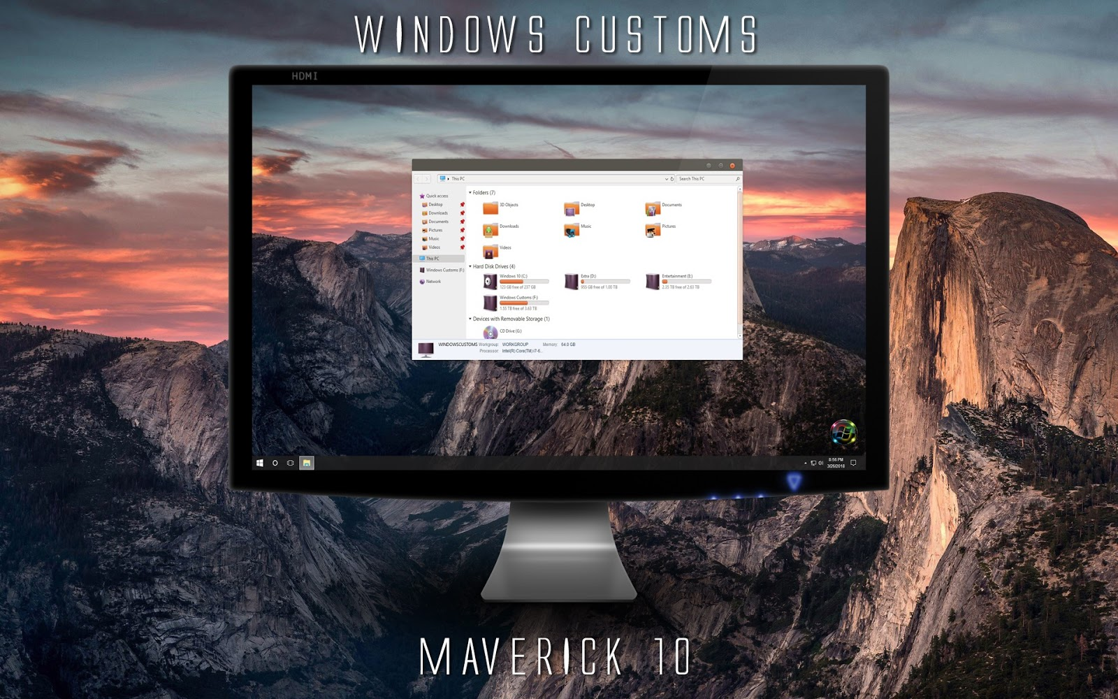 Windows Customs: Maverick 10