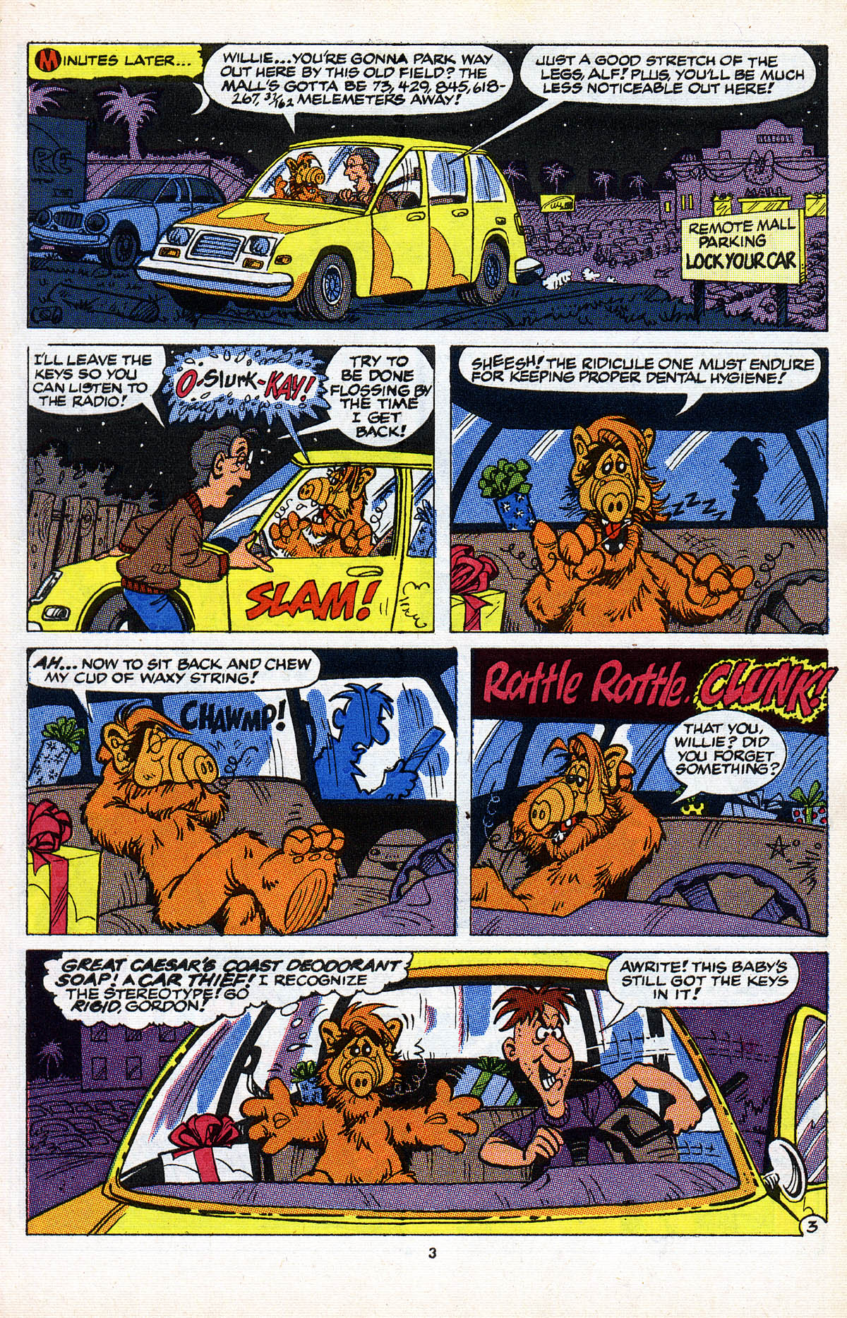 Read online ALF comic -  Issue #2 - 5
