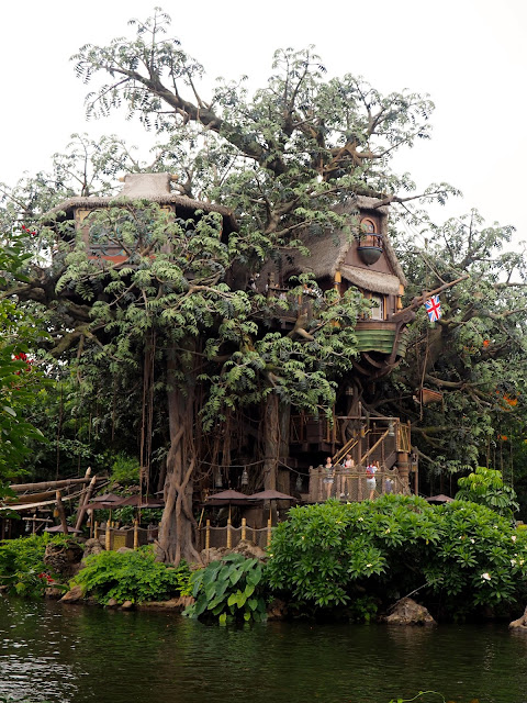 Tarzan's Treehouse, Adventureland | Disneyland Hong Kong