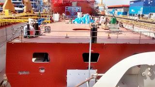 Pembangunan PKR 10514 PT PAL - Damen