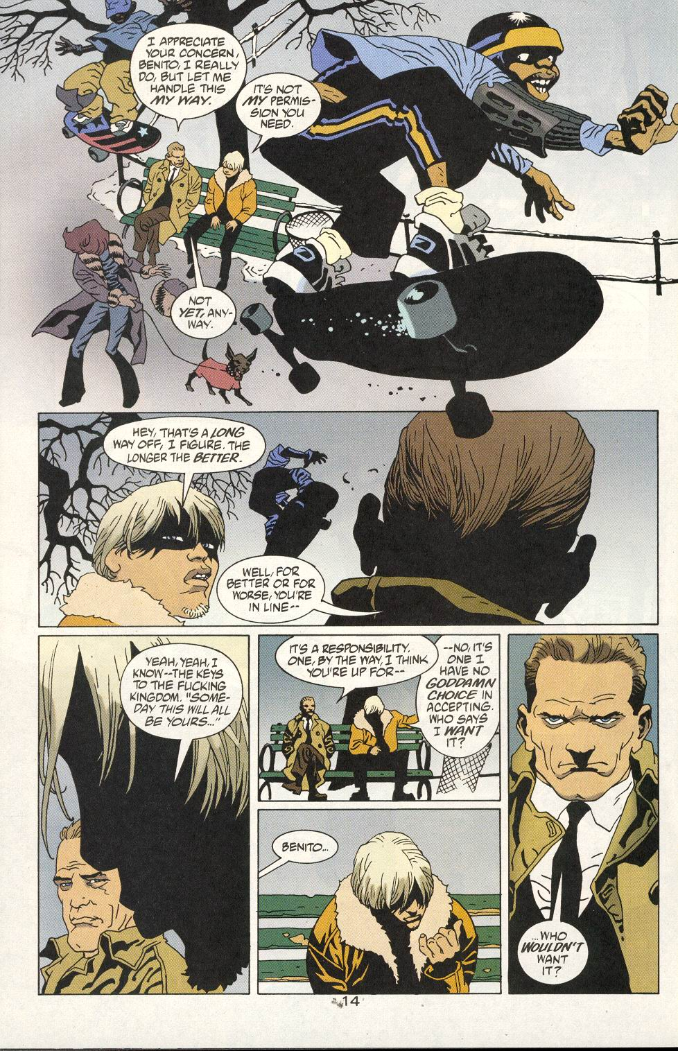Read online 100 Bullets comic -  Issue #20 - 16