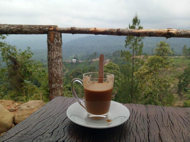 Minum Panorama Paling Sedap Di Temenin Oleh Panorama Yang Cantik