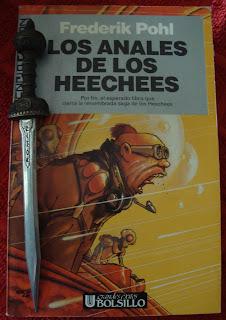 Portada del libro Los anales de los Heechees, de Frederik Pohl