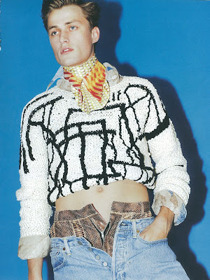 Bastiaan Van Gaalen Appears in Hero Magazine Layered for Spring/Summer 2013