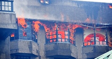 Arty Farty Friday - Another Destructive Fire in the famous Glasgow School of Art