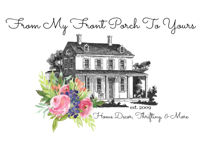 From My Front Porch To Yours Diy Faux Brick Wall Tutorial Using Chalk Paint