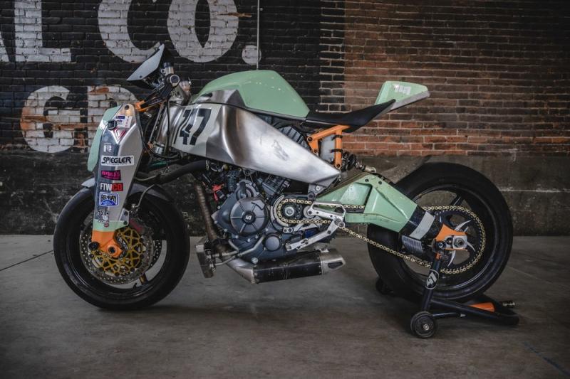 Custom MAGPUL RONIN motorcycle