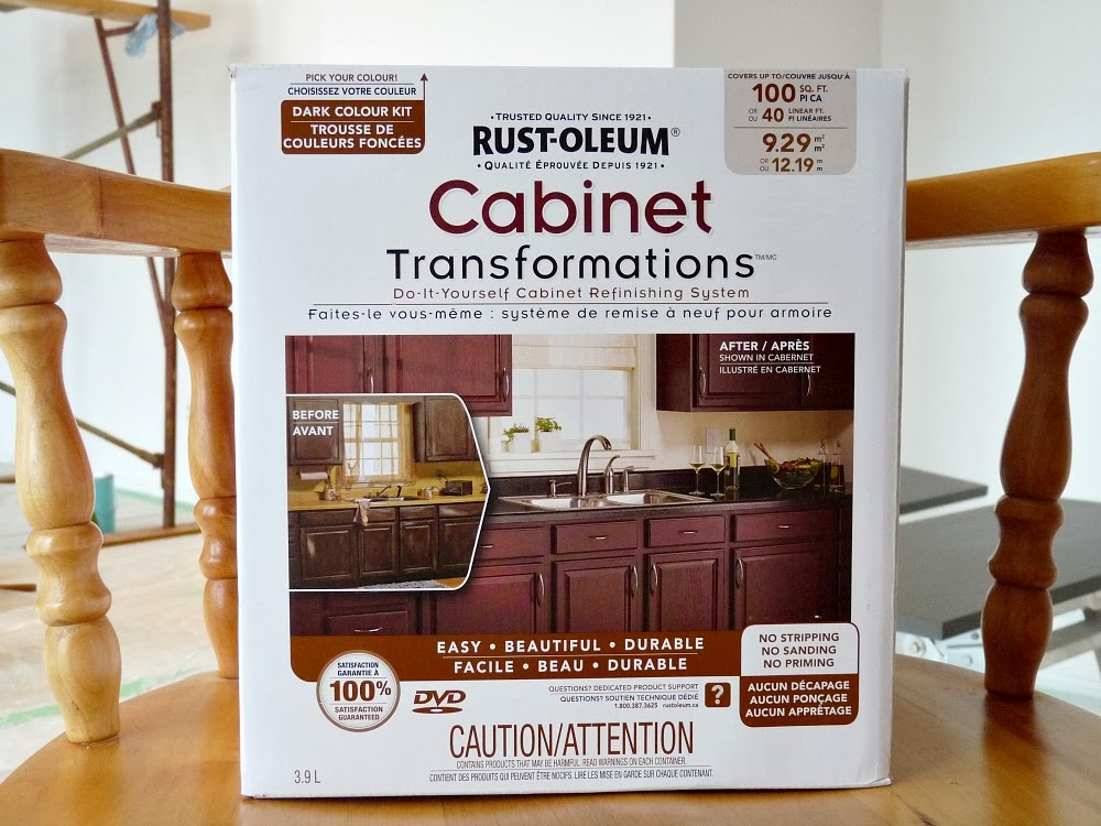 Rust-Oleum Cabinet Transformations Review