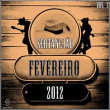 capa CD - CD Sertanejão Vol.2 Fevereiro  2012