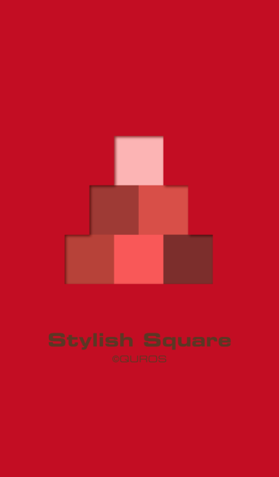 Stylish Square (red ver.)