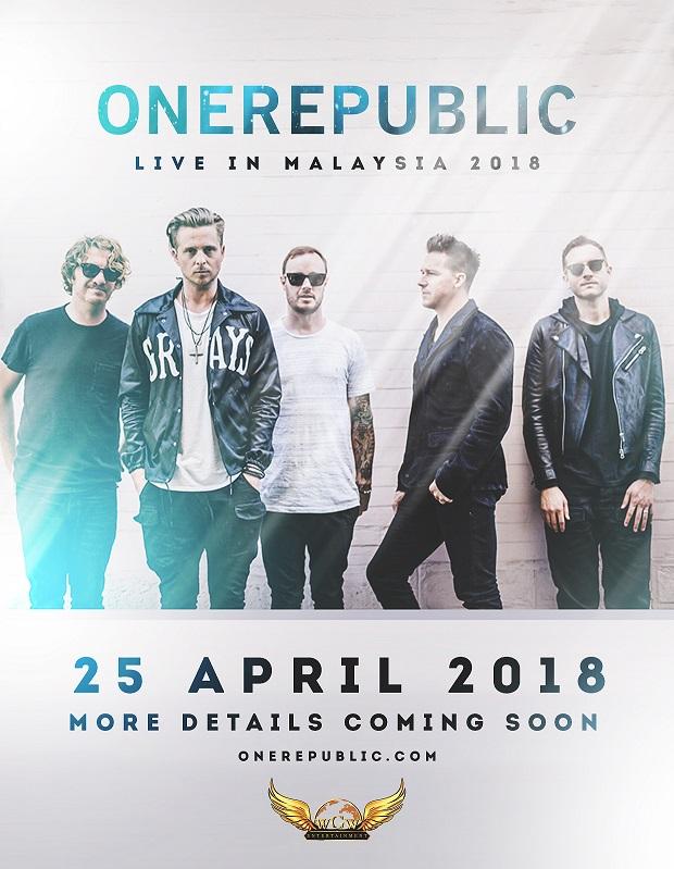 Onerepublic Tour 2018 Europe | lifehacked1st.com