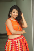 Shubhangi Bant in Orange Lehenga Choli Stunning Beauty ~  Exclusive Celebrities Galleries 052.JPG