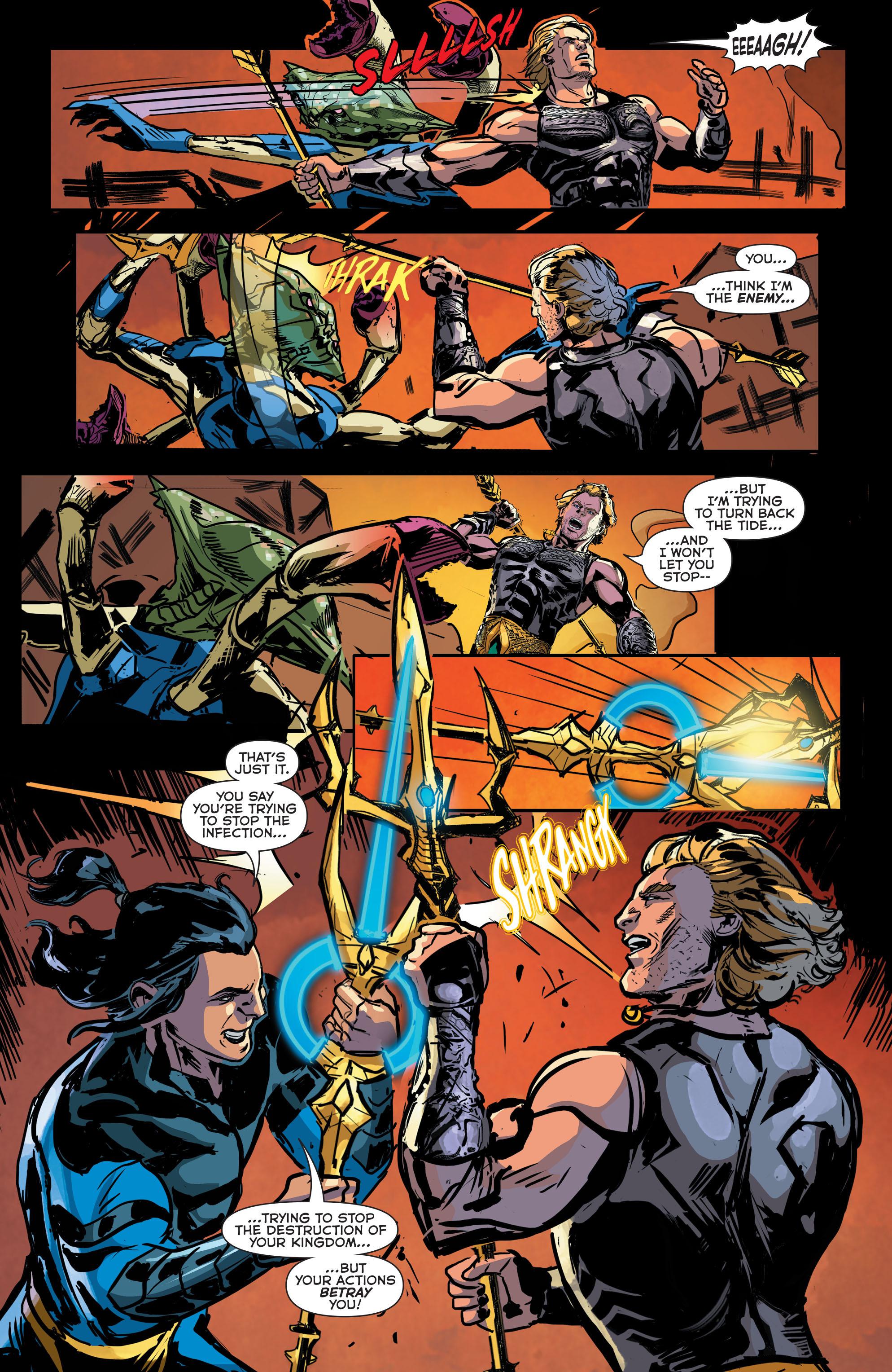 Read online Aquaman (2011) comic -  Issue #42 - 17