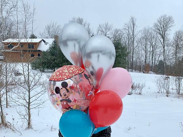 My Snowy Birthday