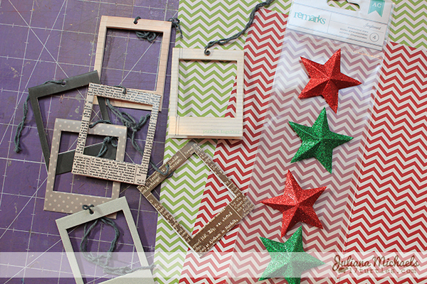 Star Christmas Gift Tags Tutorial 1 by Juliana Michaels